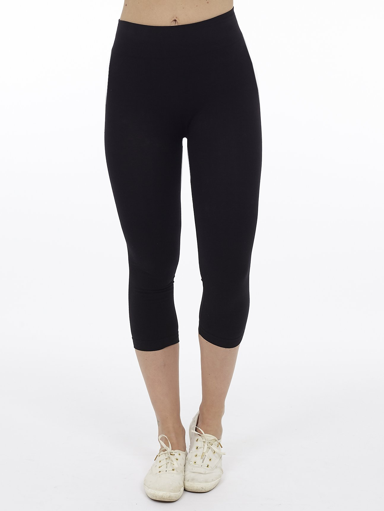 Cotton High Rise Capri length Legging
