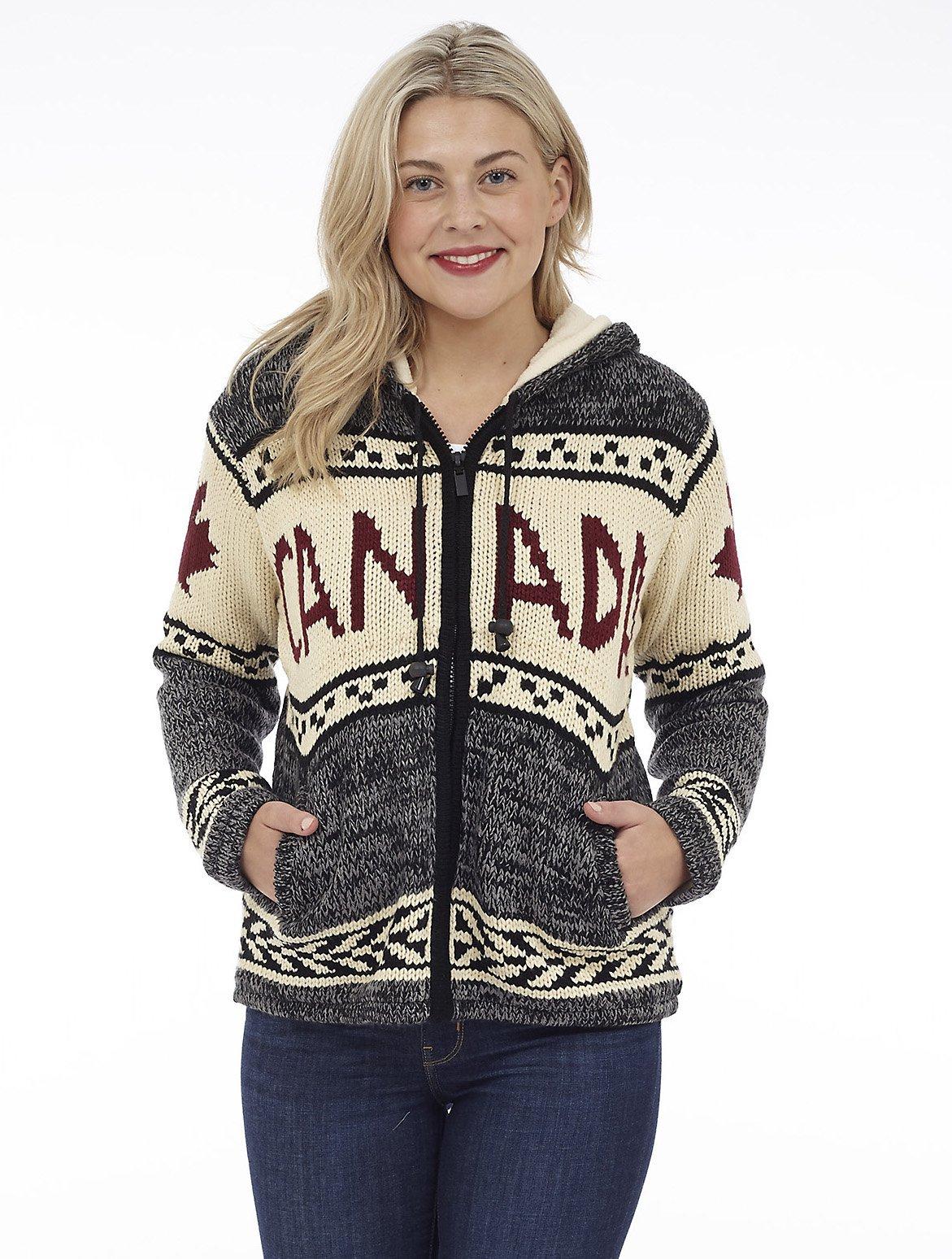 Full Zip Hooded Sweater Jacket