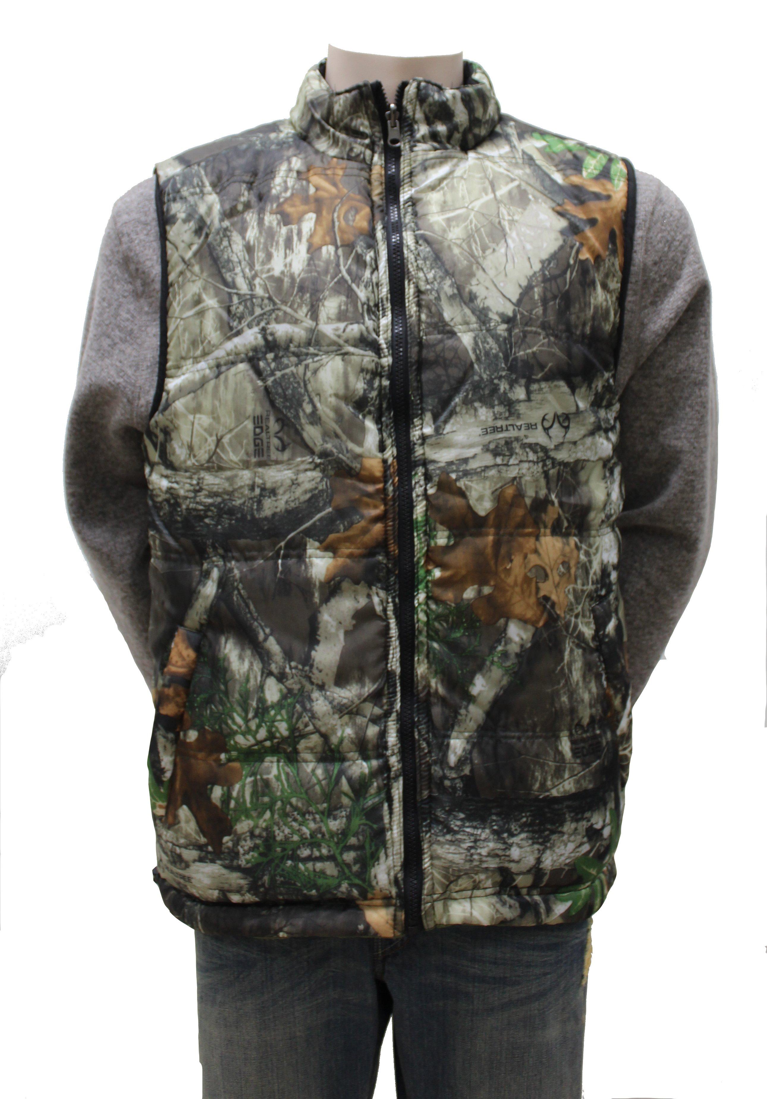 Men's Reversible Camouflage Vest