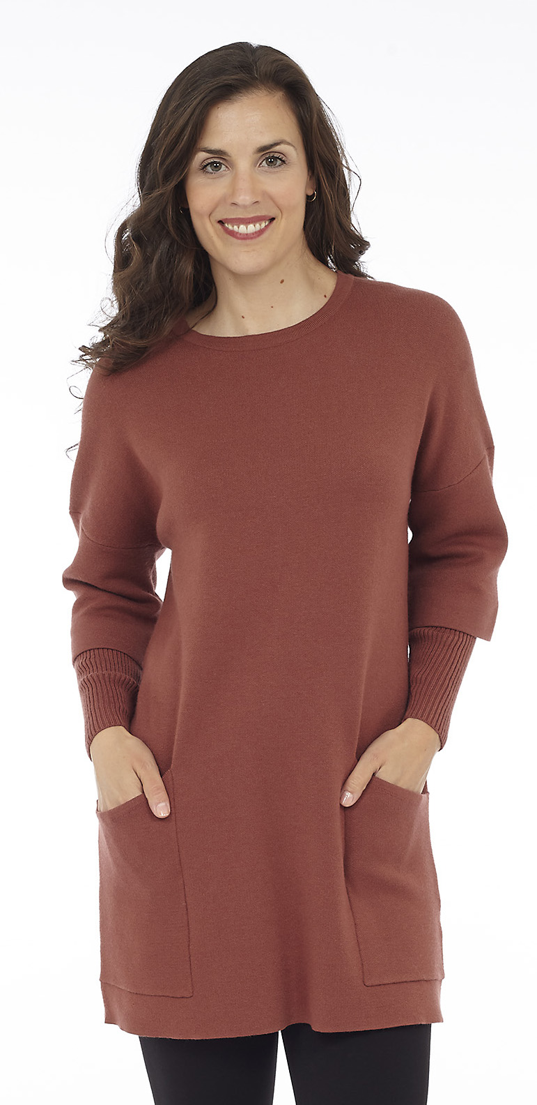 Bell Sleeve Long Tunic