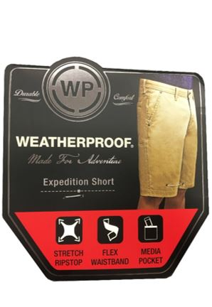 Men's Expedition Short with Cell Phone Pocket