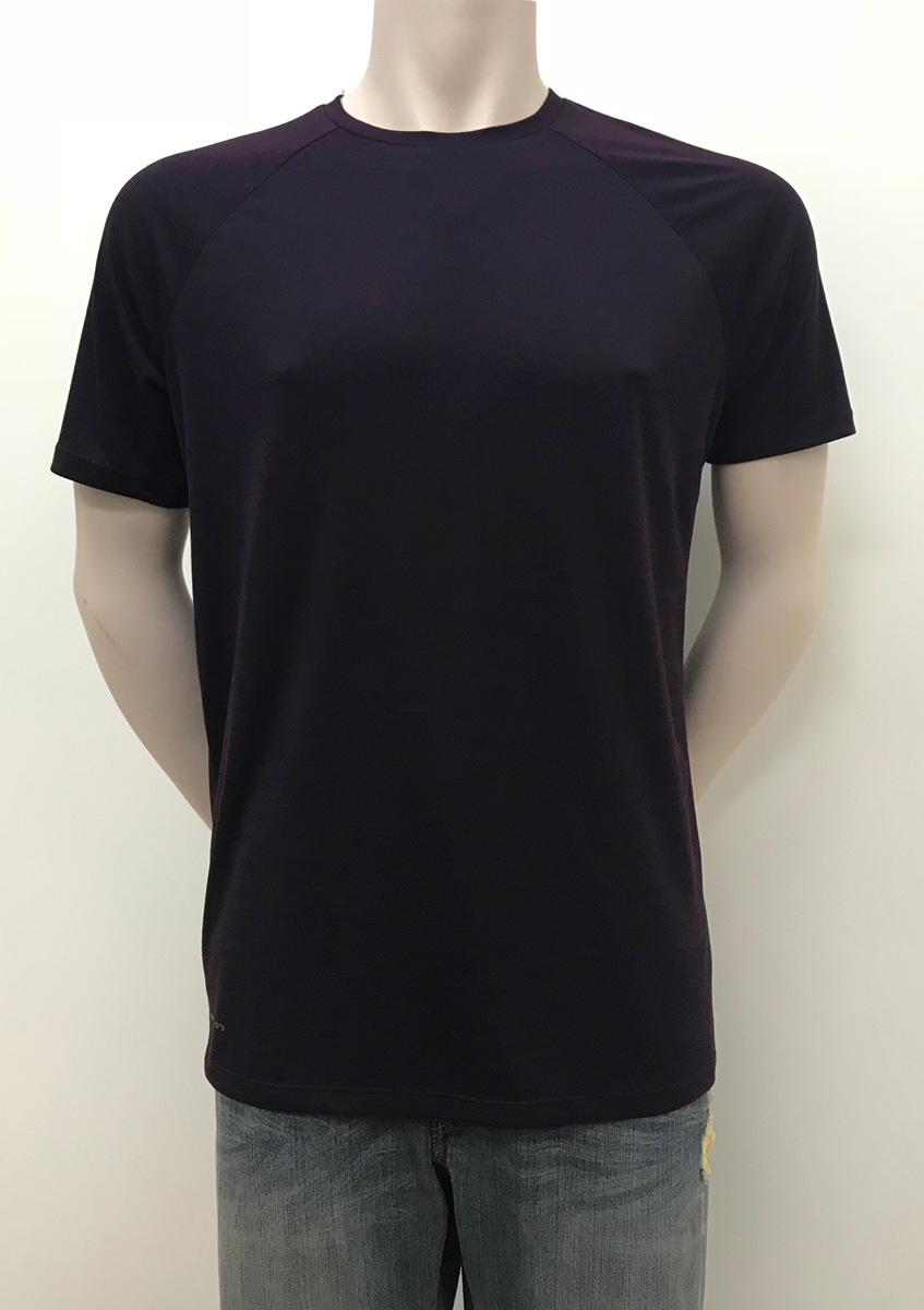 Round Neck With Mesh Back