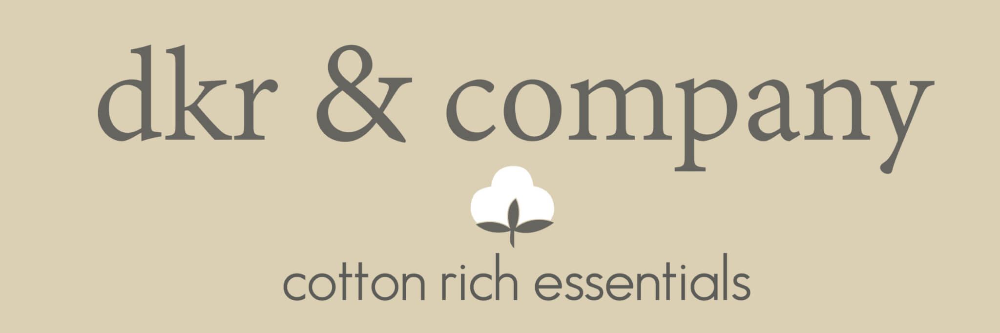 DKR Cotton Essentials Sign REVISED